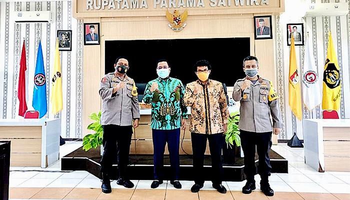 Gandeng Polres Probolinggo, Dewan Jatim kawal pelaksanaan Perda Prokes.