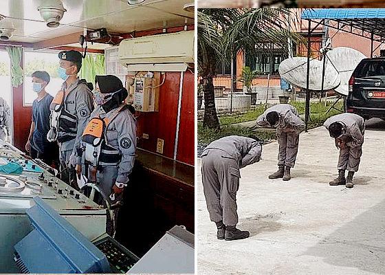 Personel Stasiun Pengamat Bakamla Gelar Latihan On Job Training