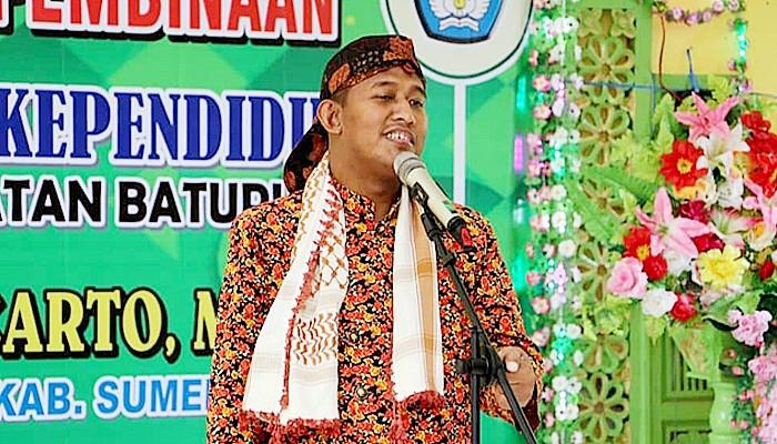 HGN 2020, Cabup Ahmad Fauzi ucapkan terimaksih kepada guru, tetap berjuang di masa Covid-19.