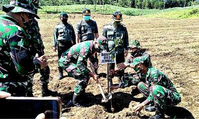 Letkol Inf La Ode pimpin pembinaan lingkungan hidup di RPH Garahan.