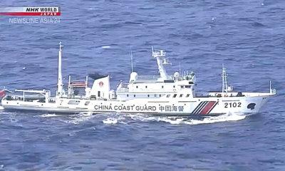 Cina tingkatkan tekanan kepada Jepang terkait klaim kepulauan Senkaku.