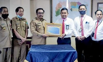 SMI berikan penghargaan dan DID untuk Pemkab Nunukan.