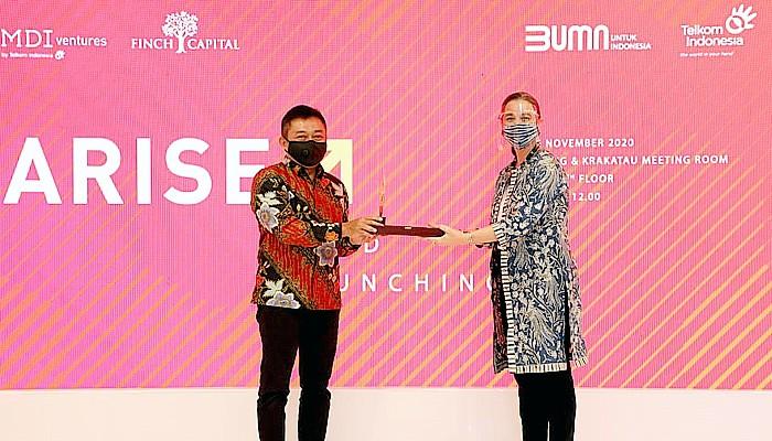 Dukung perkembangan startup teknologi di Indonesia, MDI Ventures dan Finch Capital Luncurkan Arise Fund.