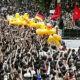 Unjuk rasa anti pemerintah di Thailand semakin meningkat.