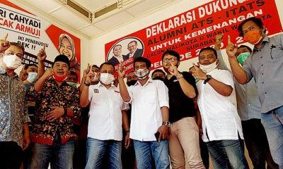 Pilih Bolo Dewe, IKBA ITATS dukung ErJi di Pilwali Surabaya.