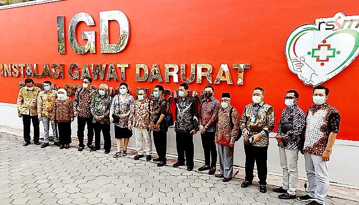 Kunker ke Madiun, Dewan Jatim pantau pengoperasian IGD RS dr. Soedono Madiun.