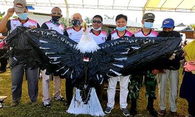 Disparpora Nunukan Gelar Festival Layang-Layang di Sebatik.