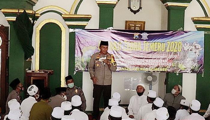 Polres Sumenep gelar Police Goes to Pesantren di Ponpes Durrahman, Yayasan Pendidikan Islam Abdullah (Yas'a) Sumenep.