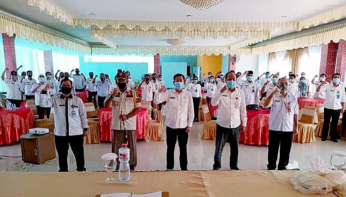 Pemkab Nunukan gelar Rakor Bidang Pemerintahan.