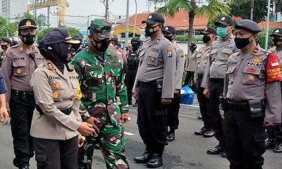 Persiapan Pengamanan Pilwali, Dandim Surabaya Utara Kumpulkan Danramil.
