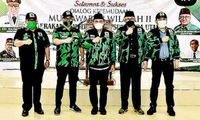 Jonson Sihaloho terpilih sebagai ketua PW Gerakan Pemuda Ka'bah Provinsi Sumatera Utara pada Musyawarah Wilayah II GPK dilaksanakan di Asrama Jaji Medan pada 28-29 November 2019.