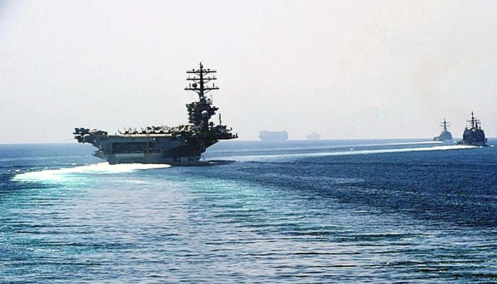 Mobilisasi Armada Ke-5 AS di Teluk Persia jelang peringatan syahidnya Soleimani.