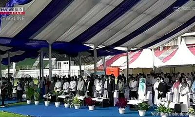 Peringatan bagi korban Tsunami 2004 di Aceh.