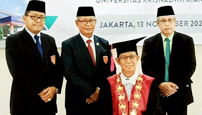 Rektor UNKRIS benah kampus melalui Lembaga Pengembangan Kreativitas dan Kebangsaan (LPKK).