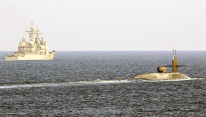 Pasca serangan roket di Kedubes, kapal selam Amerika dan Israel memasuki Teluk Persia.