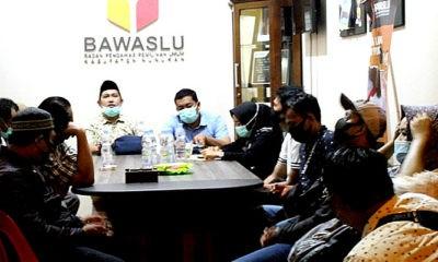 Bawaslu Nunukan gandeng media awasi Pilkada 2020.