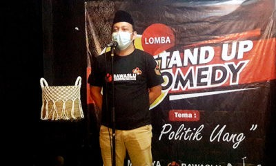 Bawaslu Nunukan gelar lomba Stand Up Comedy Anti Money Politik.