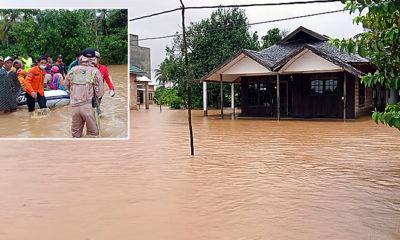 Lebih dari 20 ribu jiwa terdampak banjir di Kalimantan Selatan.