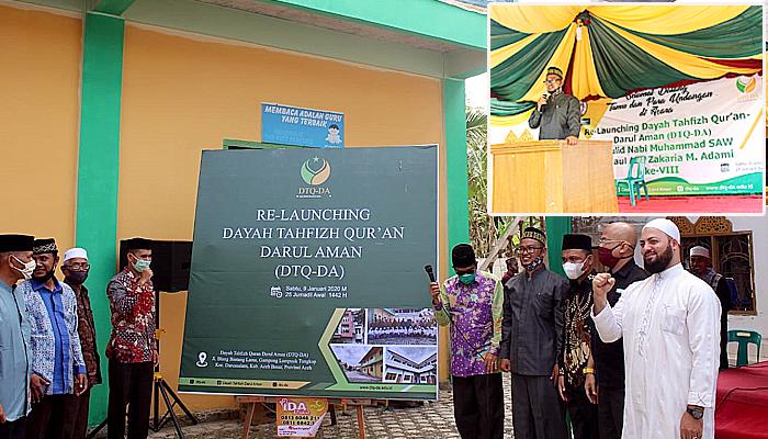 Dayah Tahfiz Quran Darul Aman (DTQ-DA) gelar relaunching