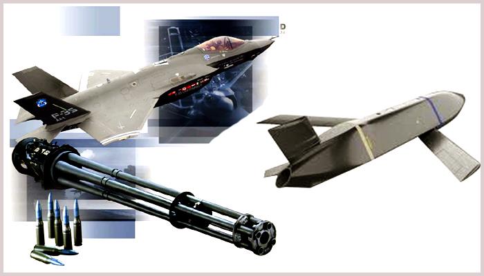 F-35 semakin gahar dengan integrasi Gatling gun dan LRASM