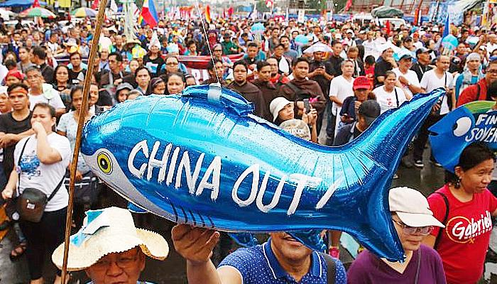 Protes Filipina: Kebijakan baru maritim Cina merupakan ancaman perang.