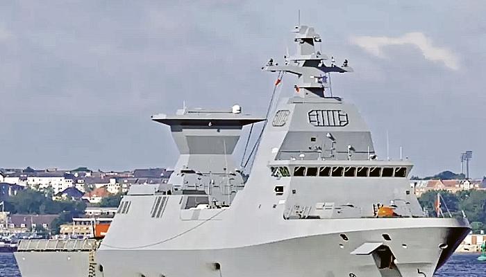 Israel segera menerima kapal perang siluman pertama buatan Jerman.