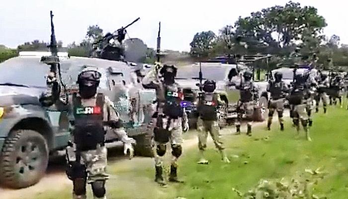 Baku tembak kartel generasi baru dengan polisi di Meksiko