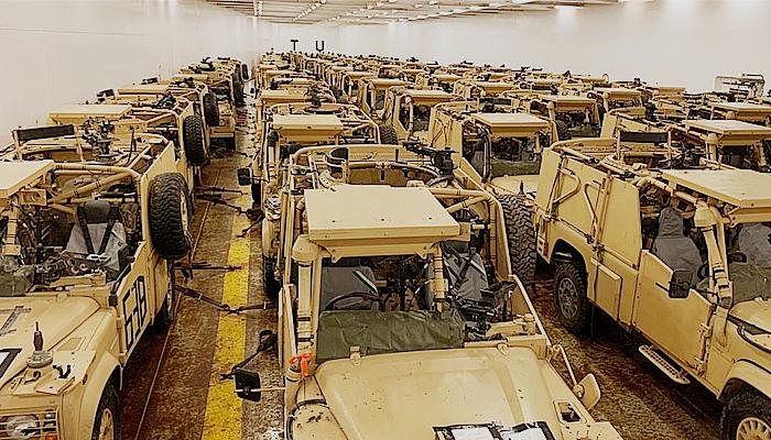 Inggris sumbang 100 kendaraan lapis baja untuk militer Lebanon.