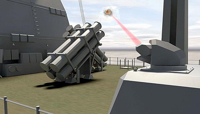 Fregat berteknologi siluman Jerman akan segera dipasang senjata laser.