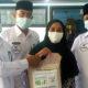 PDAM Nunukan bagikan beras ratusan karung untuk masyarakat.