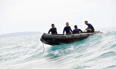 Cuaca buruk, pencarian korban dan CVR Sriwijaya Air dihentikan sementara.