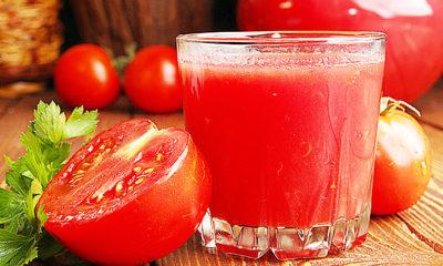 Kulit bersih bercahaya berkat buah tomat yang menakjubkan.