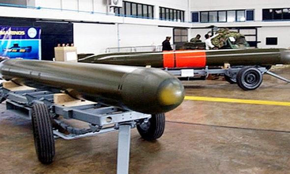 Torpedo canggih buatan PT Dirgantara Indonesia.