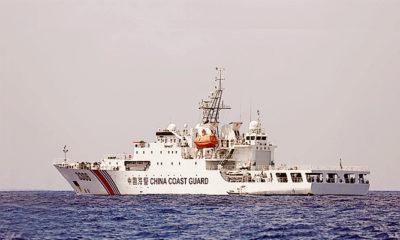 Setelah Cina memberi kewenangan penjaga pantainya gunakan senjata.