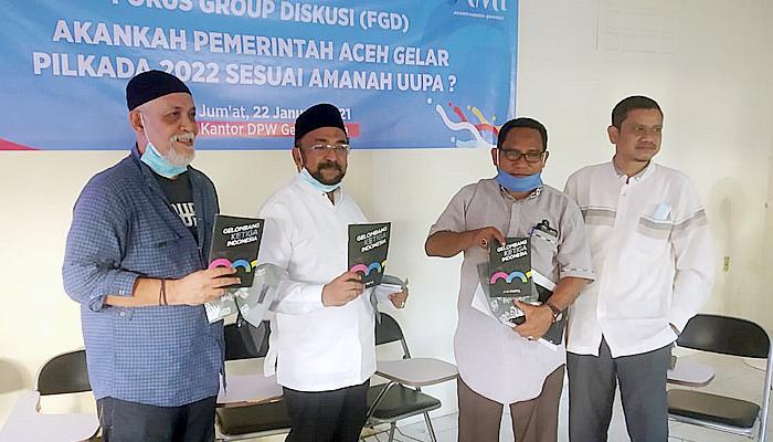 Partai Gelora Indonesia gelar Focus Group Discussion tentang Pilkada 2022