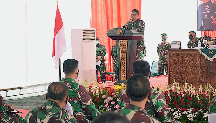 Pelaksanaan PKPM di Kabupaten Malang jadi perhatian serius Pangdam Brawijaya.