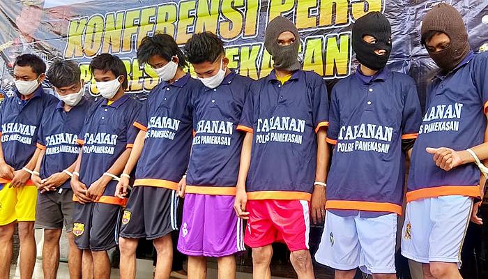 Pencuri kotak amal masjid Pamekasan masih di bawah umur dan juga positif narkoba.