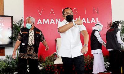 Ajak masyarakat ikut serta vaksinasi sinovac, Sahat: Usai vaksinasi imun saya meningkat.