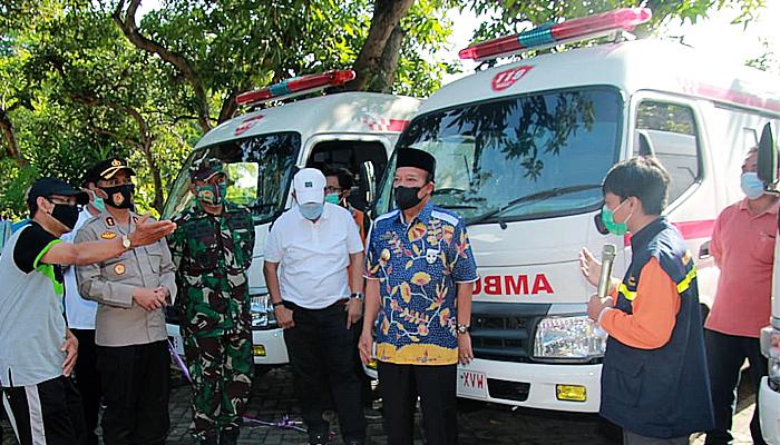 Masuki proses vaksinasi, 11 mobil ambulan disiagakan.