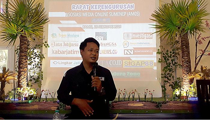 Supanji wartawan FaktualNews.co terpilih secara aklamasi sebagai Ketua AMOS.