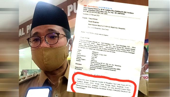 Salah gunakan kewenangan, Bupati Bangkalan digugat di PTUN.