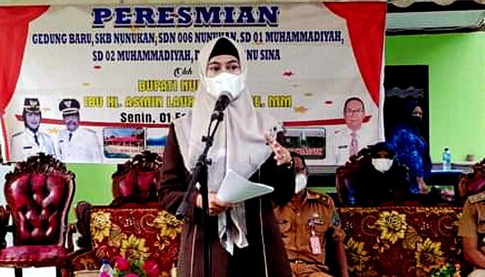 Pemkab Nunukan teguhkan komitmennya dalam memajukan pendidikan.