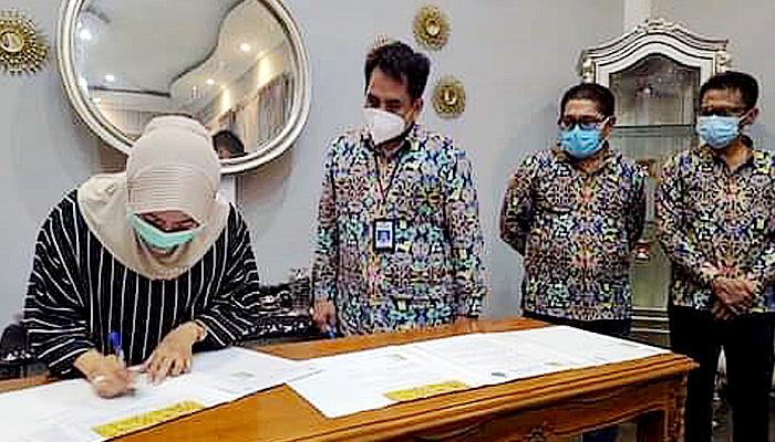 Pemkab Nunukan terima 19 aset BMN Kementerian PUPR.