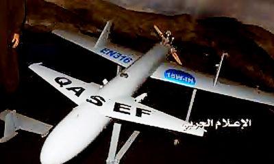 Perang Yaman: drone dan rudal Houthi semakin menakutkan pasukan koalisi pimpinan Arab Saudi.