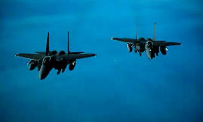 Presiden Biden perintahkan serangan udara pertama di Suriah.