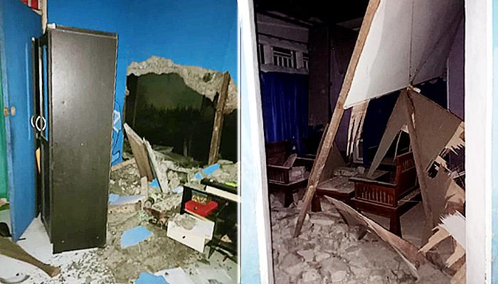 Gempa M5,2 di Halmahera Selatan akibatkan puluhan rumah dan bangunan rusak ringan.
