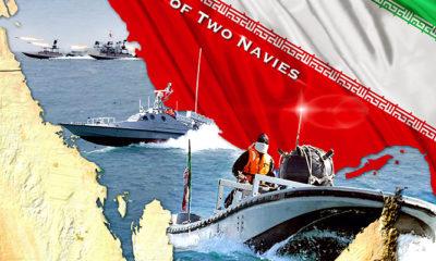 Iran resmikan 340 kapal serang cepat ringan yang dilengkapi rudal.