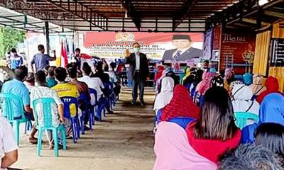 Marthin Billa serukan generasi muda perteguh 4 pilar kebangsaan.