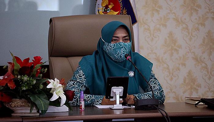 Ketum TP PKK Pusat tebar semangat untuk masyarakat DKI Jakarta sehat.