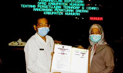 DPRD Nunukan setujui 6 raperda.